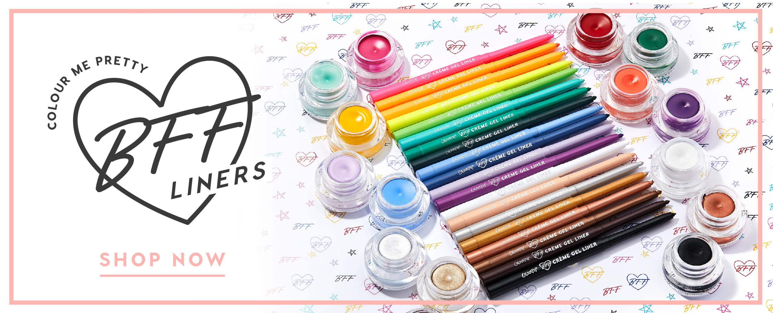 Colour me pretty with BFF eyeliners