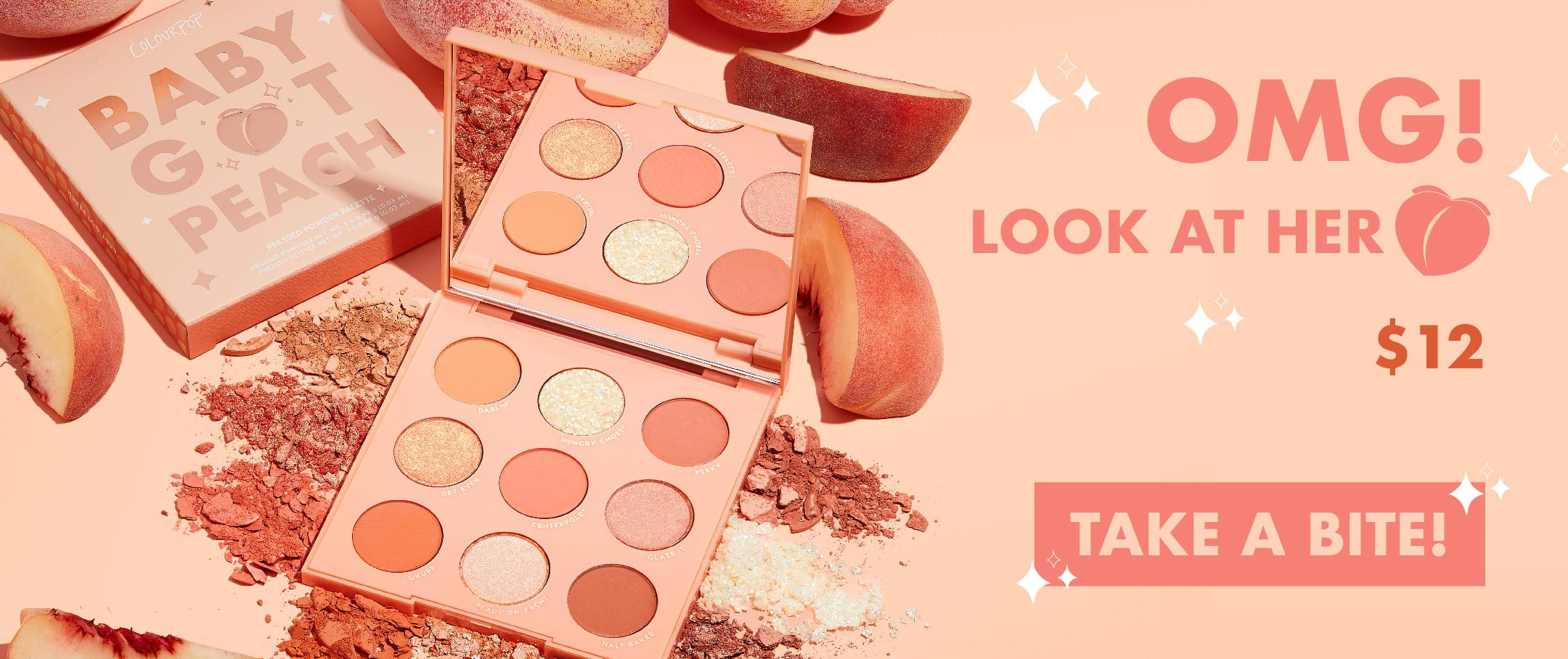Colourpop Peach Collection