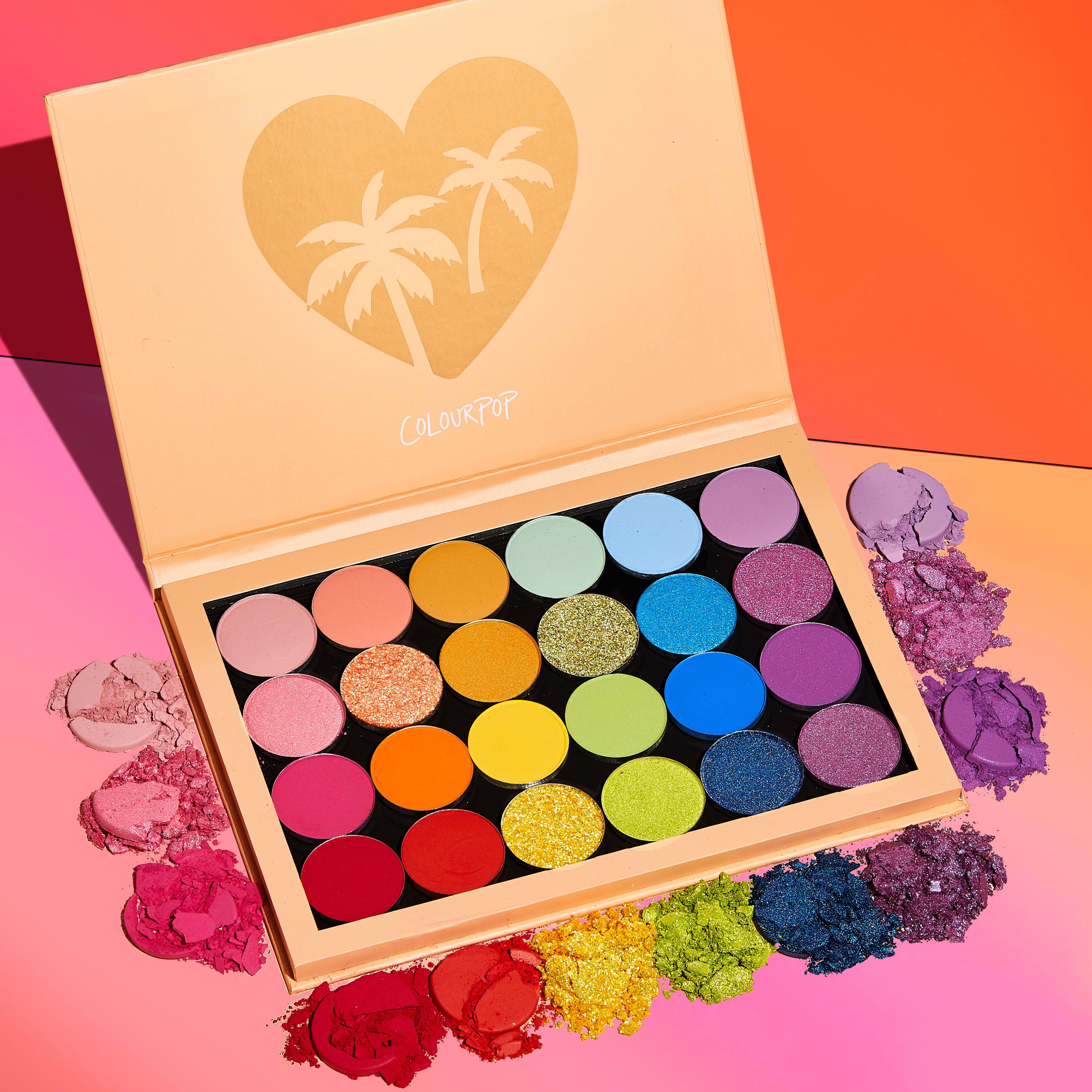 shop she's a rainbow palette