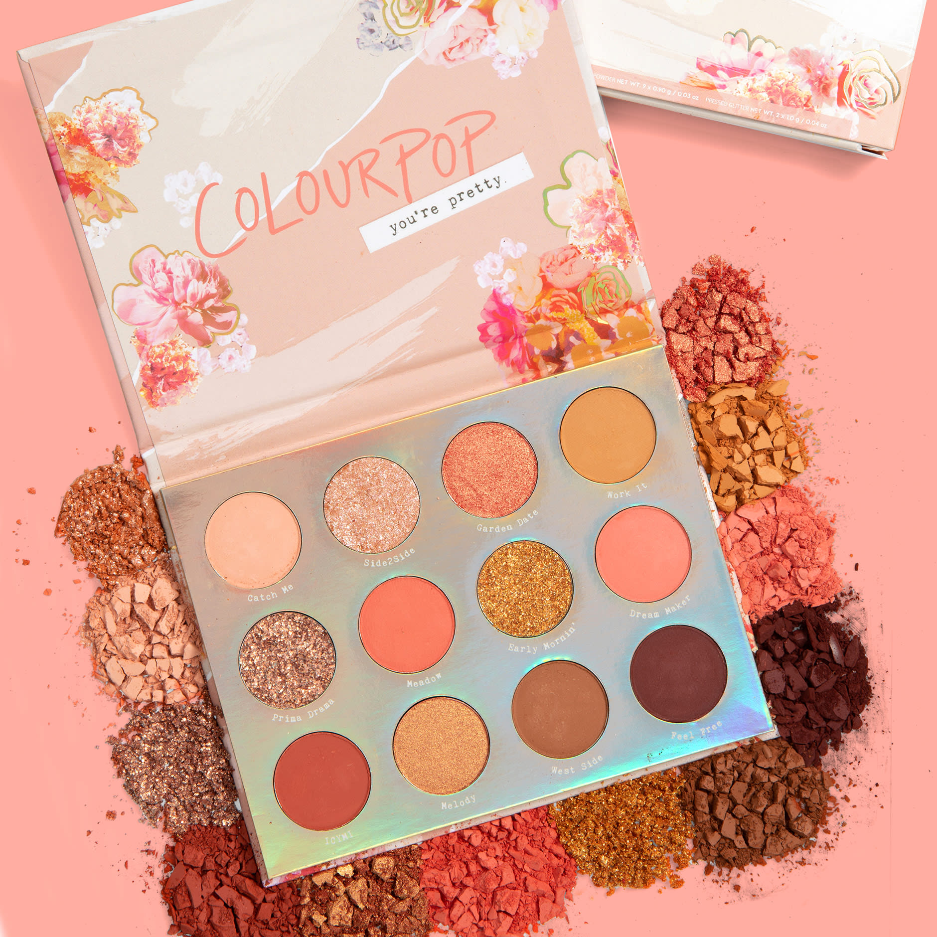 Sweet talk shadow palette