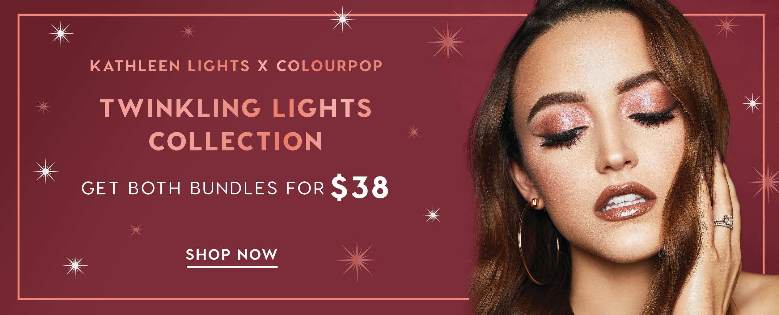 Kathleen Lights x Colourpop Twinkling Lights Collection