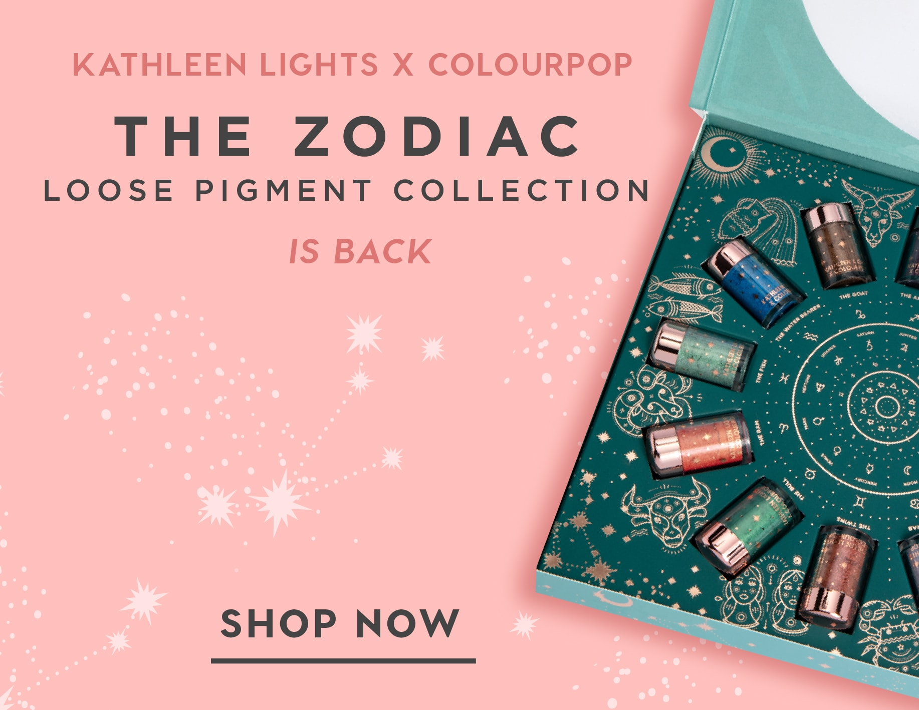 Kathleen Lights x ColourPop Zodiac Collection Back In Stock