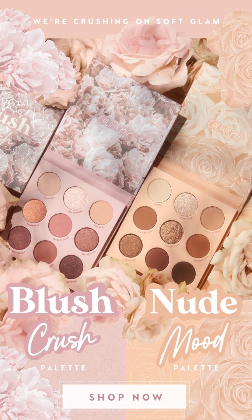 Blush Crush Nude Mood Soft Glam