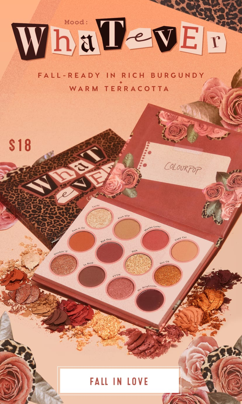 Fall-Ready Whatever Palette $18